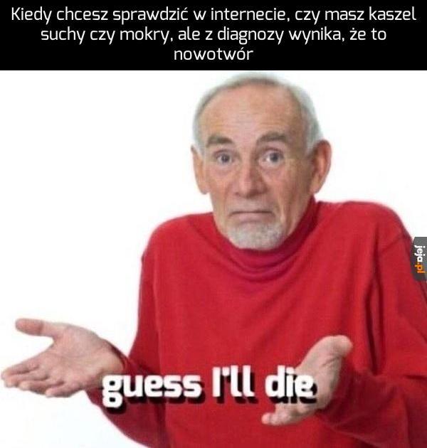 To zawsze rak