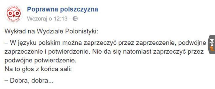 Język polski jest piękny