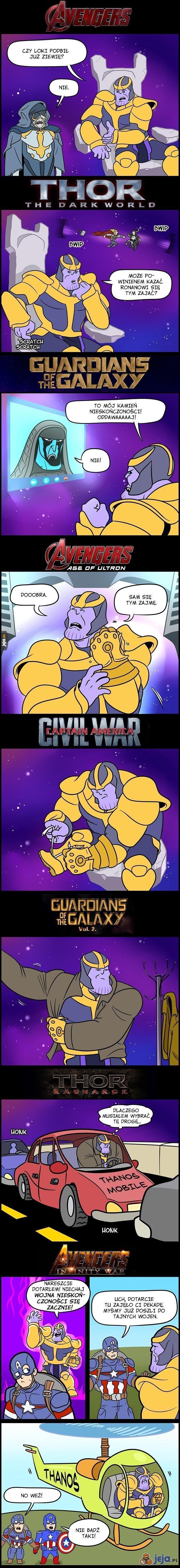 Gdzie ten Thanos?