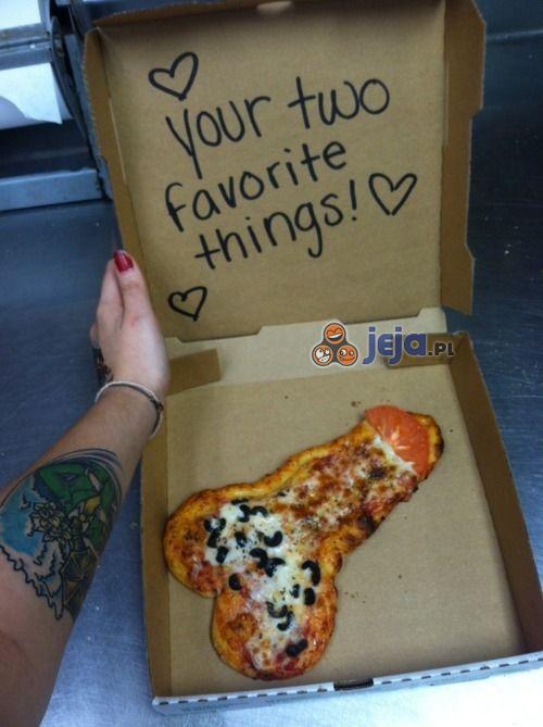 Mój dostawca pizzy wie co lubię