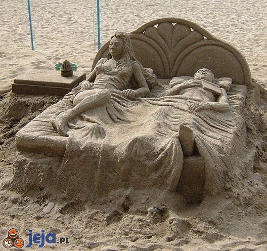 Rzeźba z piasku