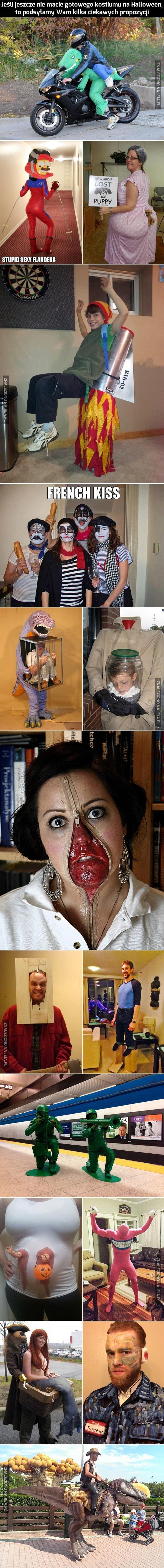 Pomysłowe kostiumy na Halloween