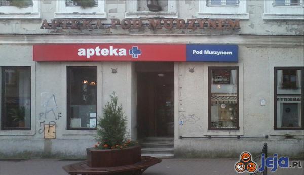 Dziwna nazwa apteki