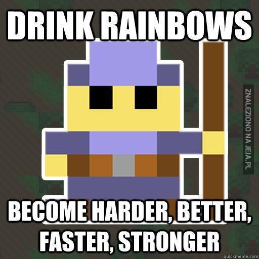 Pij tęczę!