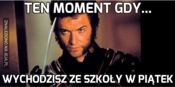 Ten moment gdy...