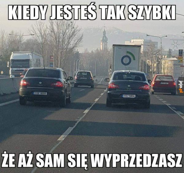Szybki kierowca