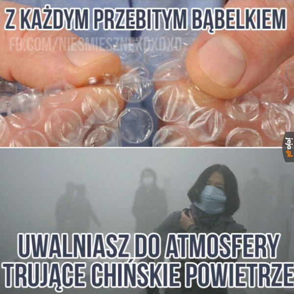 To stąd ten smog