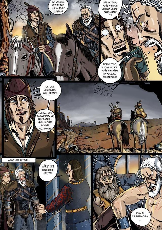 Wiedźmin i jego odsiadka