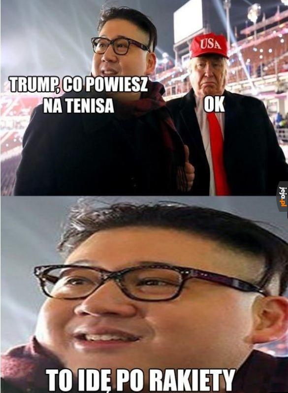 Nie trzeba Kimowi 2 razy powtarzać