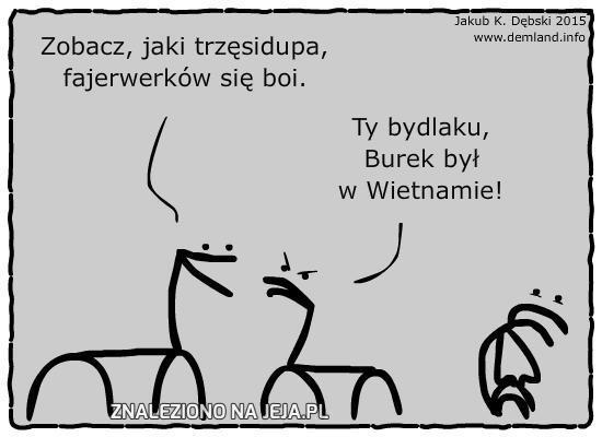 Burek i fajerwerki