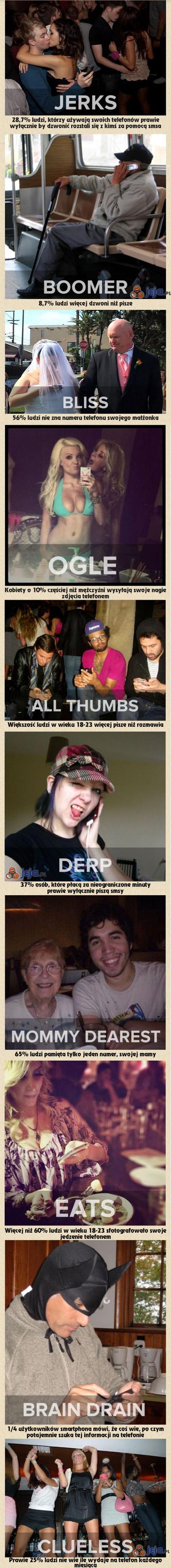 Ludzie i telefony