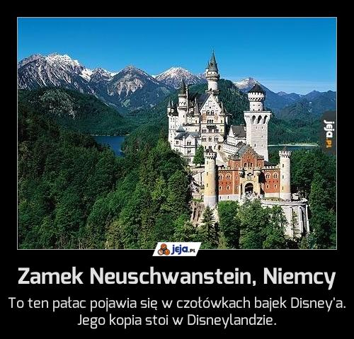 Zamek Neuschwanstein, Niemcy