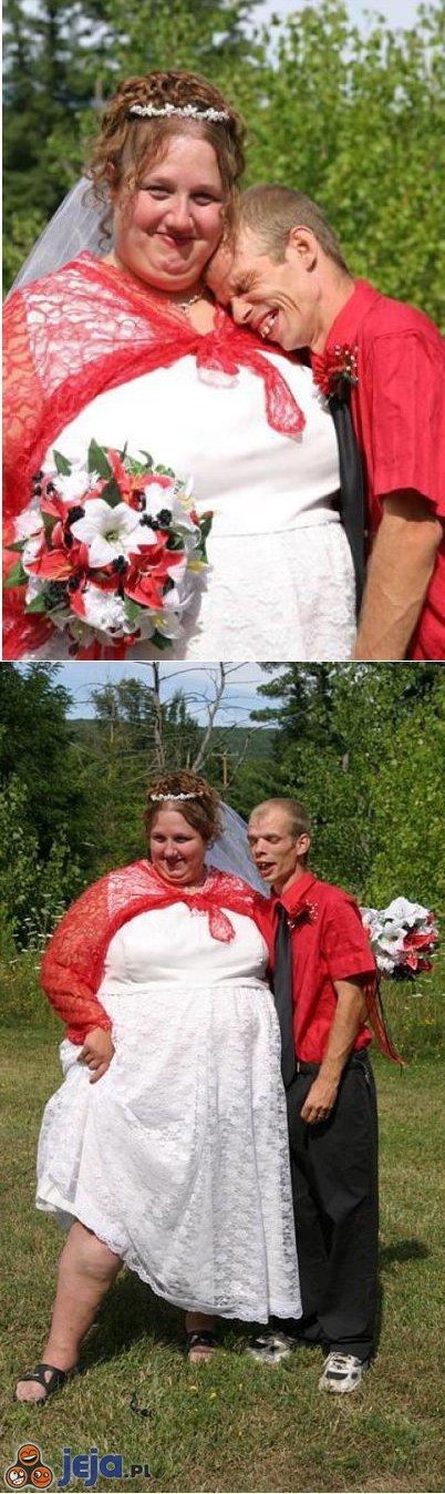 Szczęśliwa młoda para