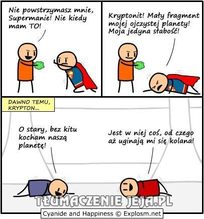 Słabość Supermana - historia prawdziwa