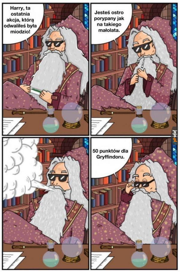 Zajebista akcja, Harry