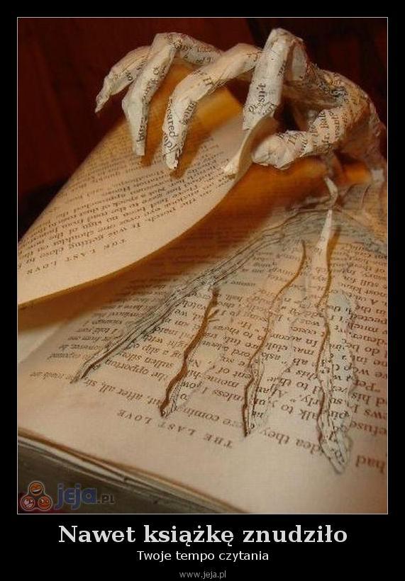 Nawet książkę znudziło