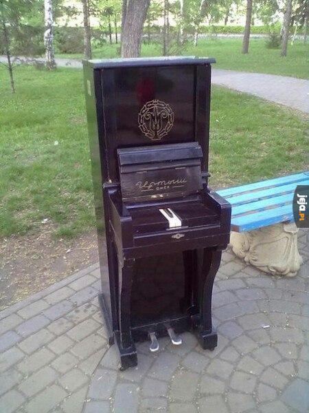 Pianino w Omsku