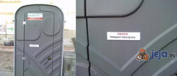 Teleport nieczynny