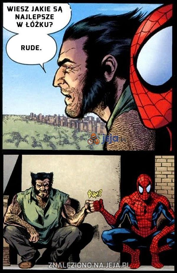 Wolverine i Spiderman znaleźli wspólny język