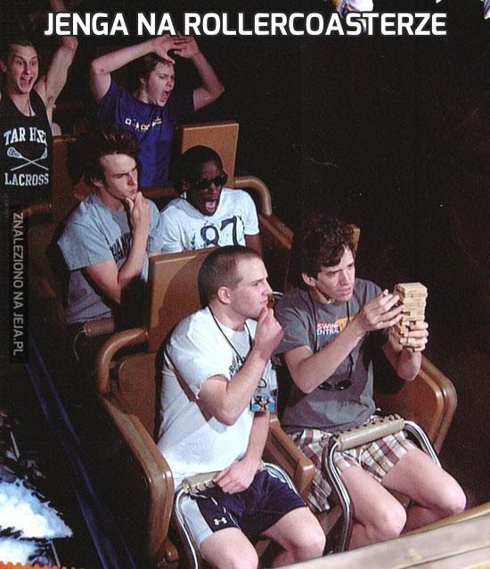 Jenga na Rollercoasterze