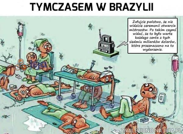 Tymczasem w Brazylii