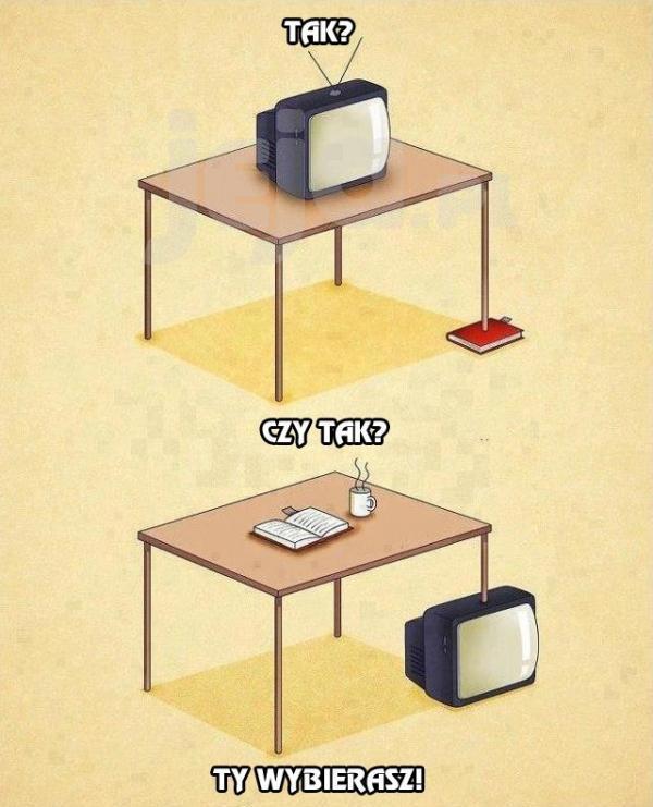Telewizja czy książka?