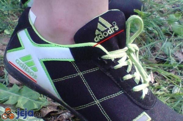 Podróbka Adidasa