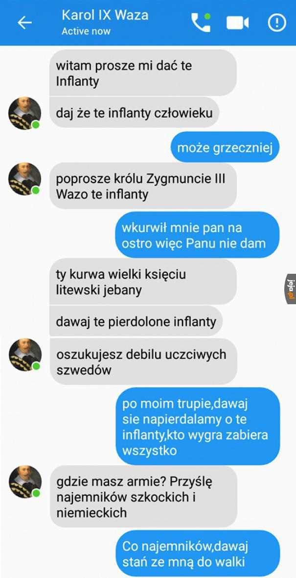 Historyczna rozmowa