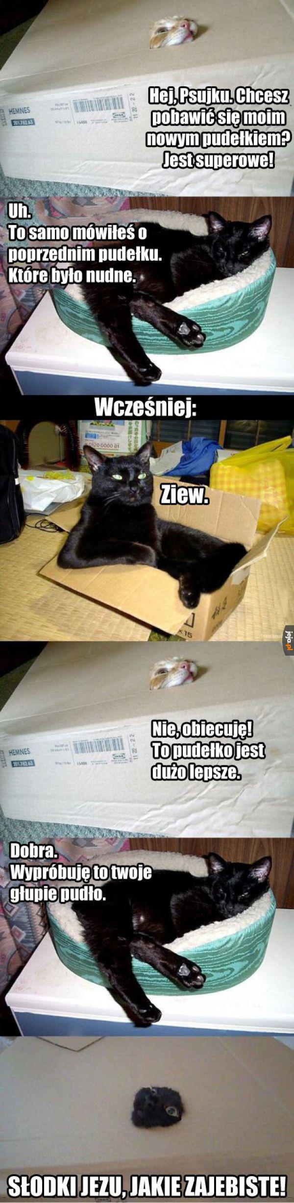 Nowe pudełko