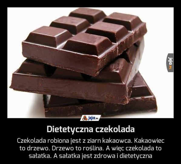 Dietetyczna czekolada