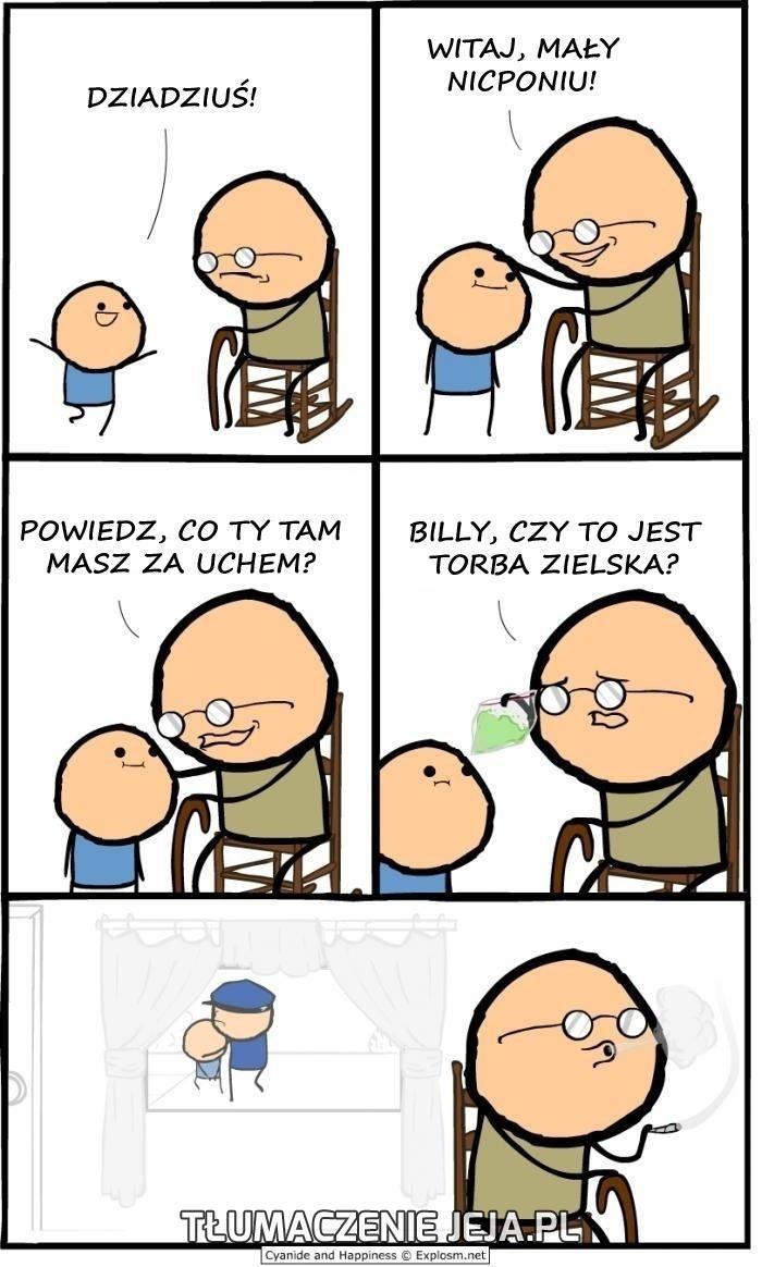 Co masz za uchem, Billy?
