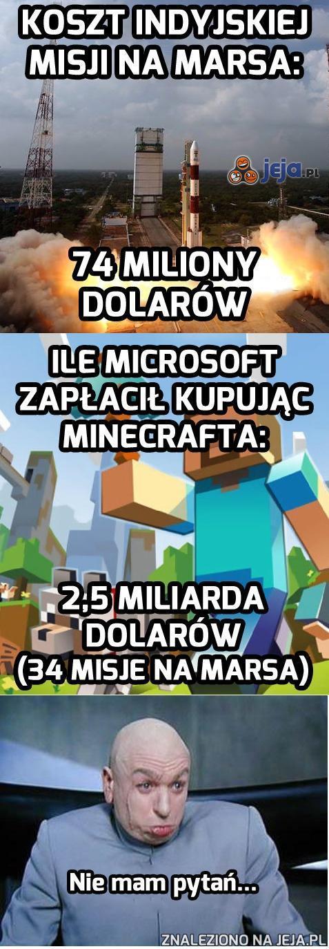 A kosmitów pokonamy... w Minecrafta!