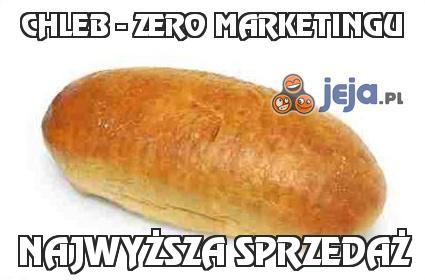 Chleb - zero marketingu