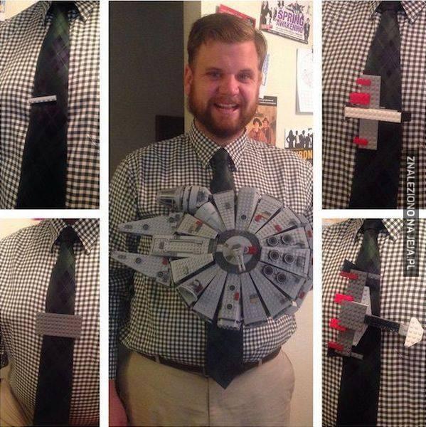 Gdy zwykła spinka do krawatu to za mało