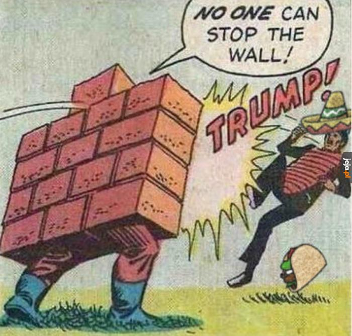 Ulubiony superbohater Trumpa