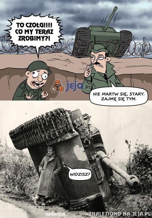 Nie takie rzeczy się robiło, szeregowy...