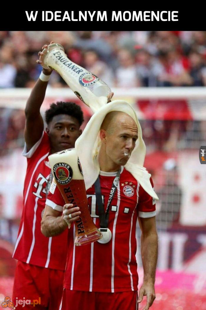 Bayern świętuje mistrzostwo