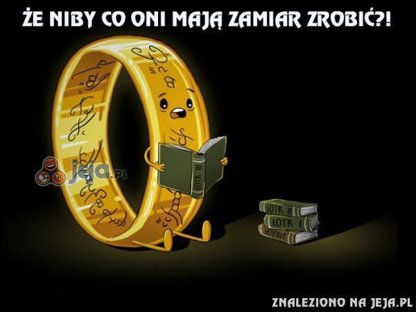 Pierścień nie lubi Władców Pierścieni