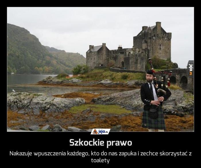Szkockie prawo