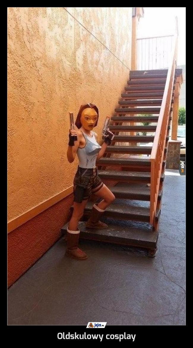 Oldskulowy cosplay