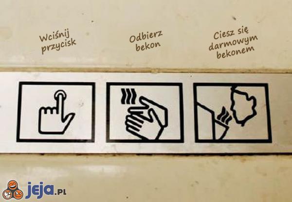 Oznaczenia w toaletach