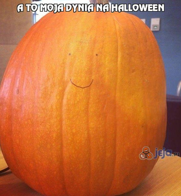 A to moja dynia na Halloween