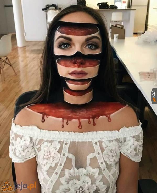 Makijaż 3D