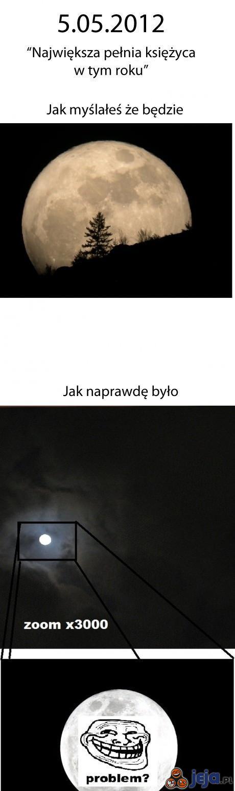 Księżyc trolluje