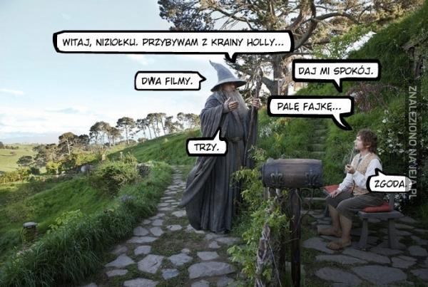 Gandalf bywa przekonywujący