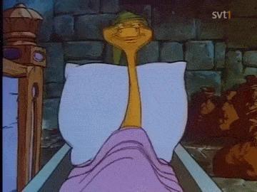 Po przebudzeniu godzinę przed budzikiem