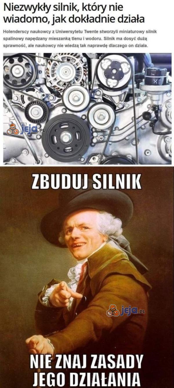 Naukowcy zbudowali silnik