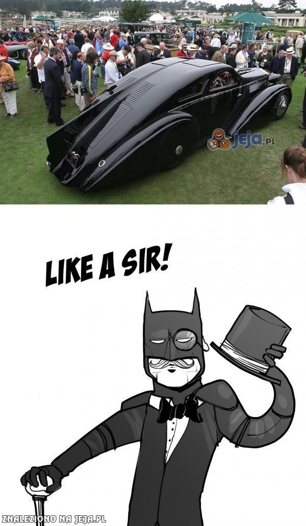 Batman zajechał z klasą