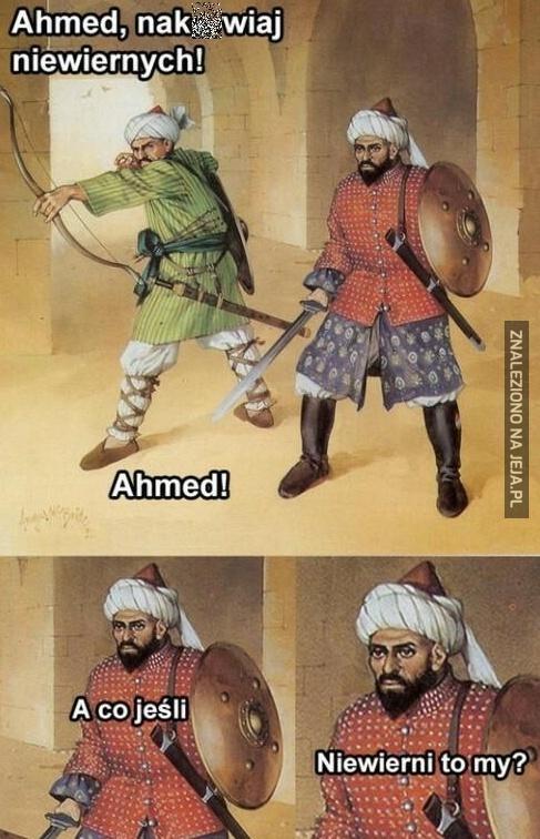 Ahmed, naku*wiaj!