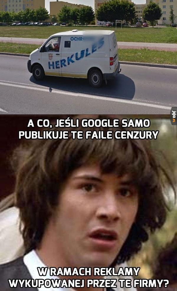 Kolejny fail Google